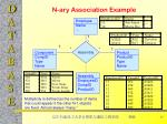 n ary association example
