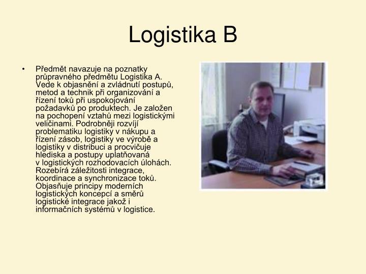Logistika B