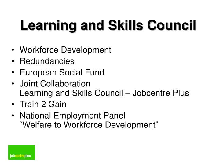 Learning and Skills Council