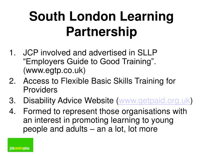 South London Learning Partnership
