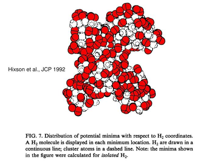 Hixson et al., JCP 1992