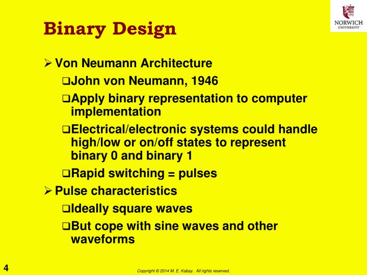 Binary Design