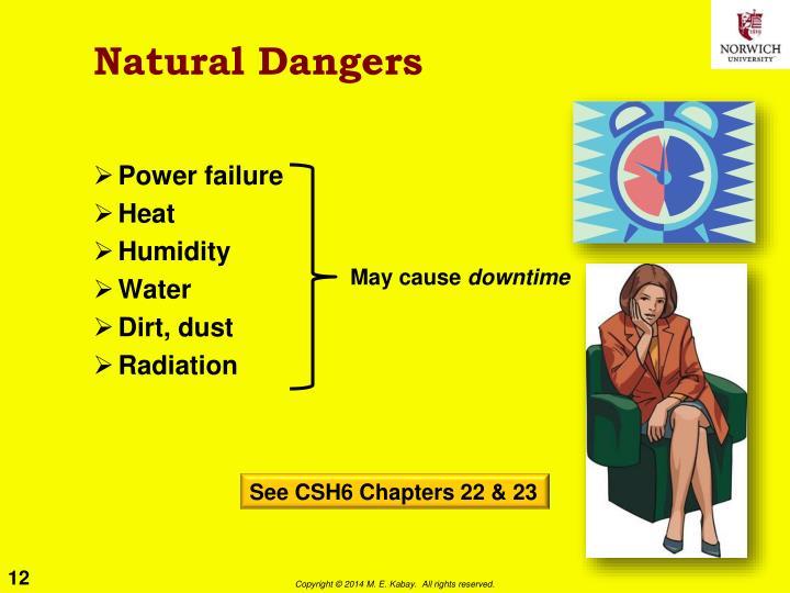 Natural Dangers