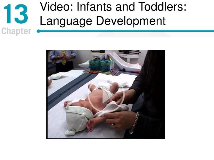 Video: Infants and Toddlers: Language Development