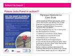 future jobs fund in action