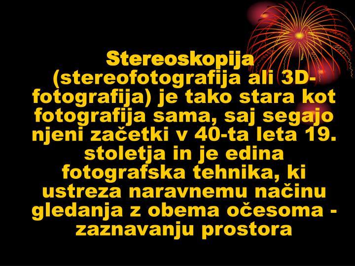 Stereoskopija