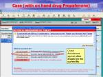 case with on hand drug propafenone7