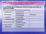 lasa look alike sound alike medications i