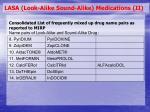 lasa look alike sound alike medications ii