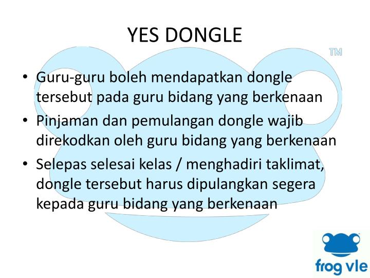 YES DONGLE