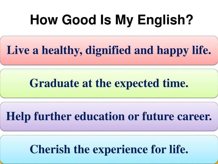 How Good Is My English?