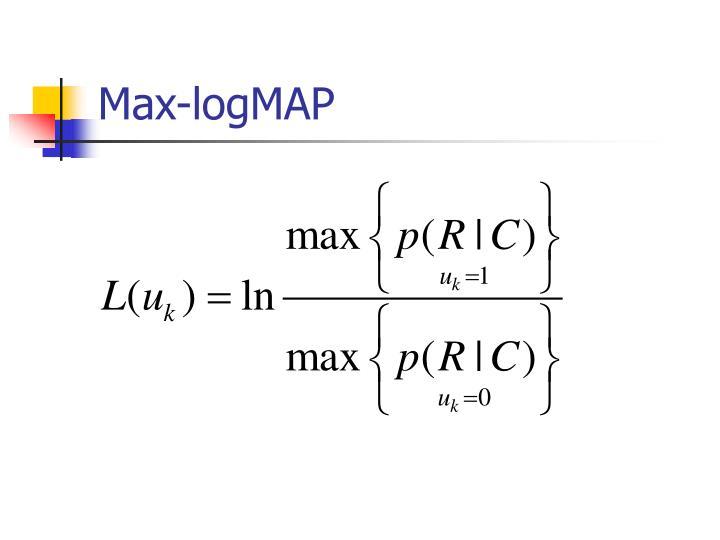 Max-logMAP