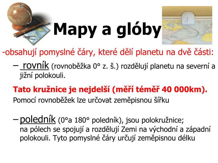 Mapy a glóby