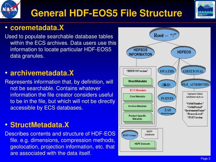 General HDF-EOS5 File