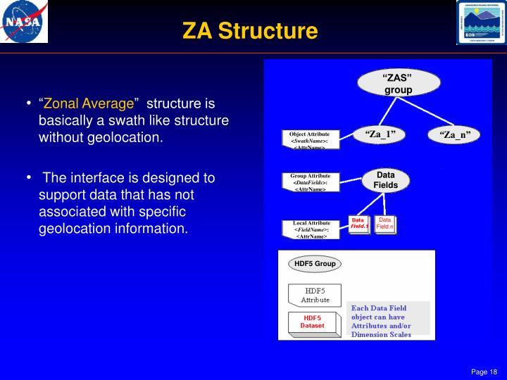 ZA Structure