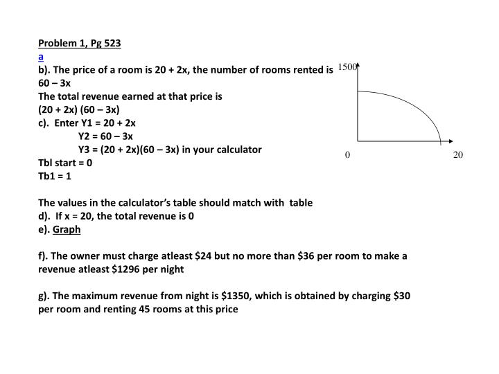 Problem 1, Pg 523