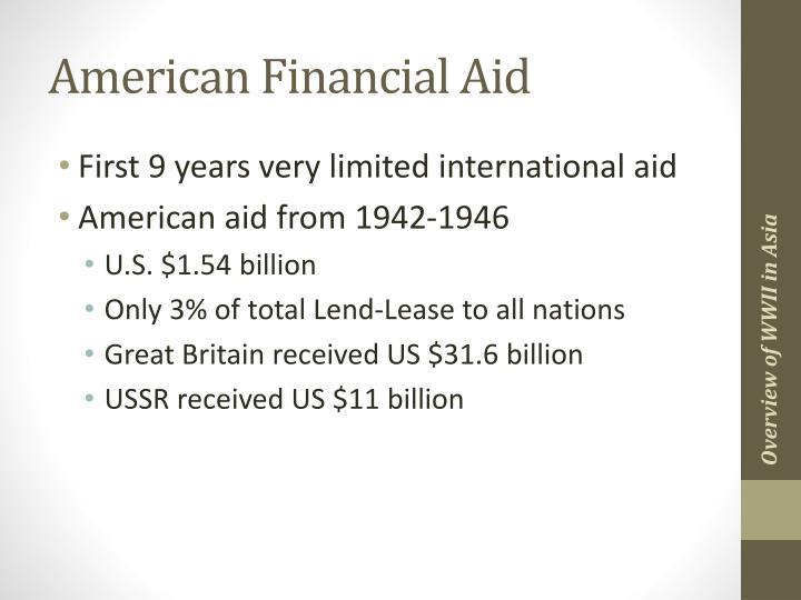 American Financial Aid