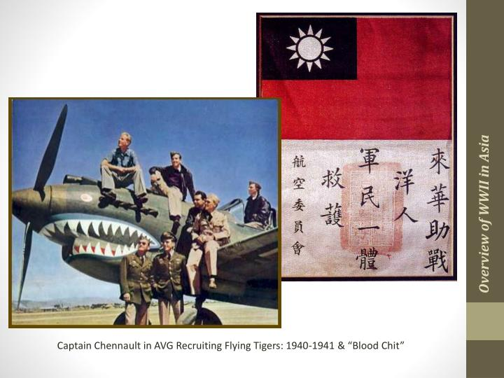 Overview of WWII in Asia