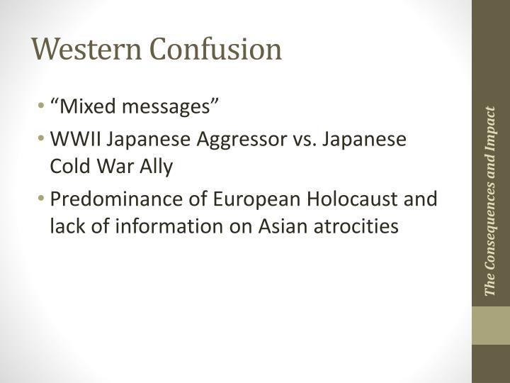 Western Confusion