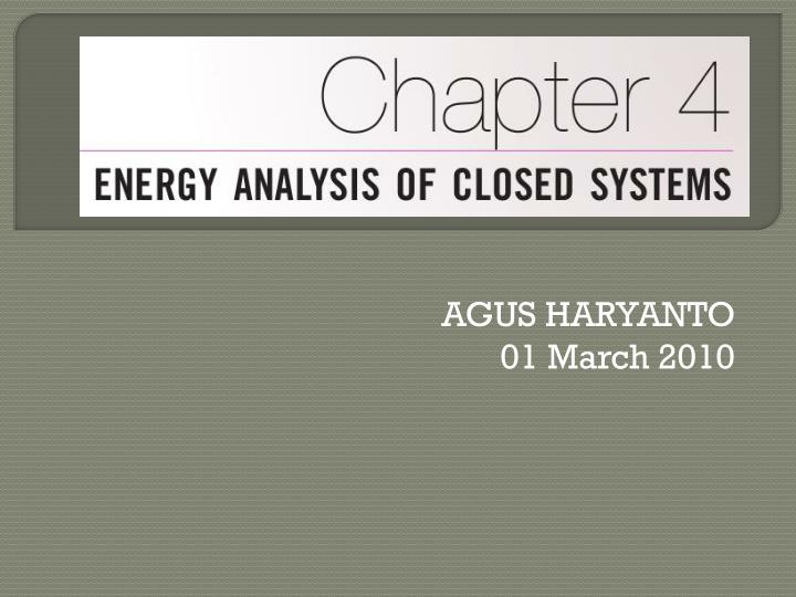 Agus haryanto 01 march 2010