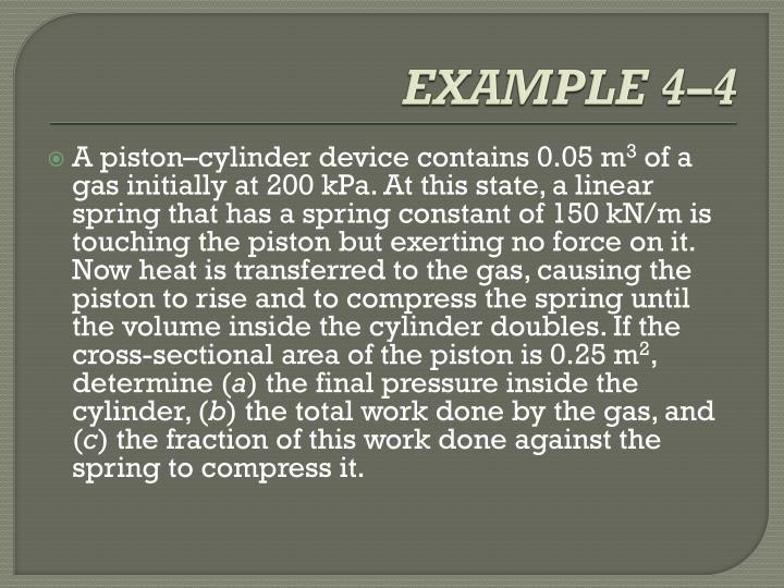 EXAMPLE 4–4