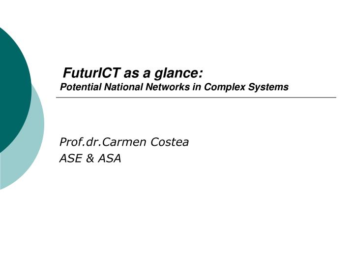 futurict as a glance potential national networks in complex systems