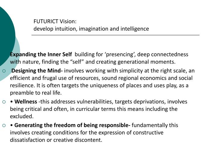 FUTURICT Vision: