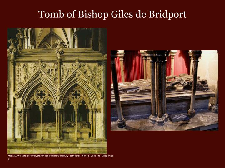Tomb of Bishop Giles de Bridport