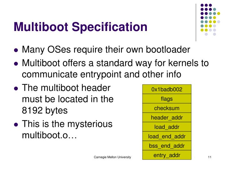 Multiboot Specification
