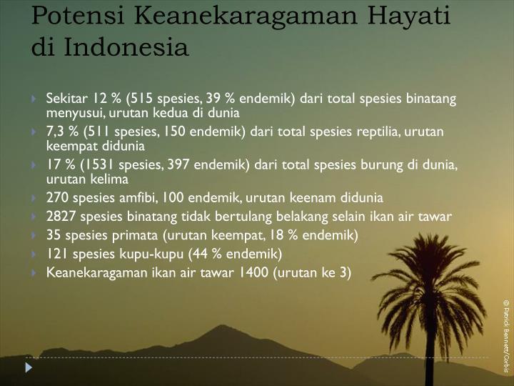 Potensi Keanekaragaman Hayati