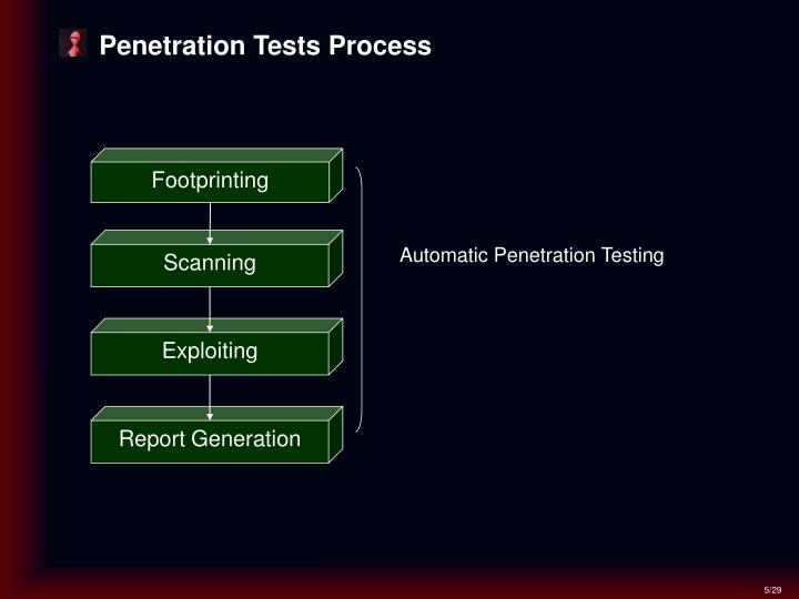 Penetration Tests Process
