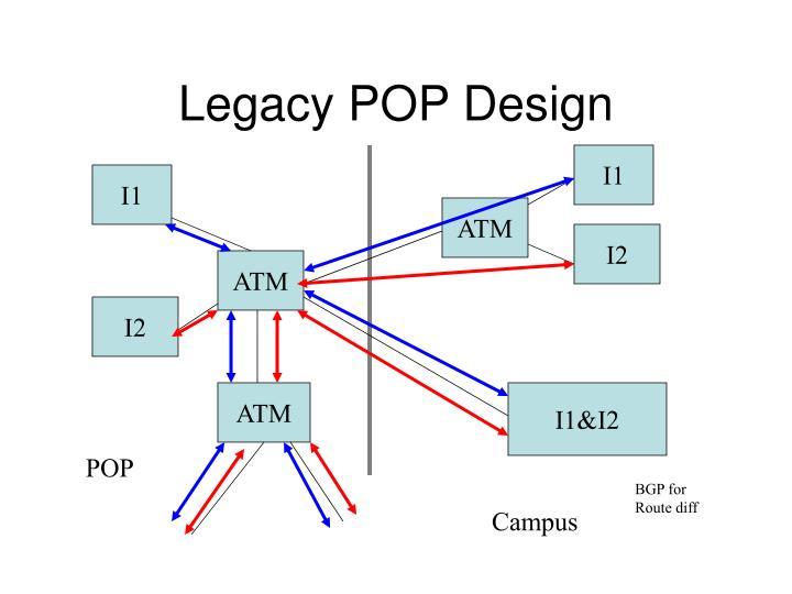 Legacy POP Design