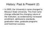 history past present 2