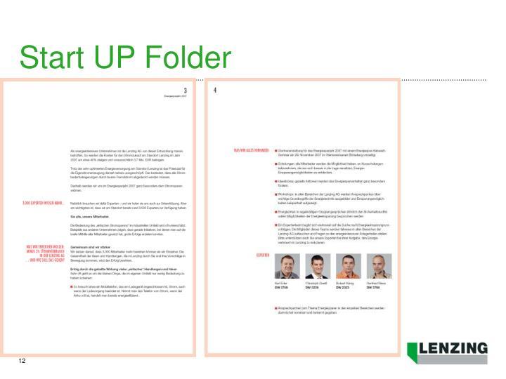 Start UP Folder