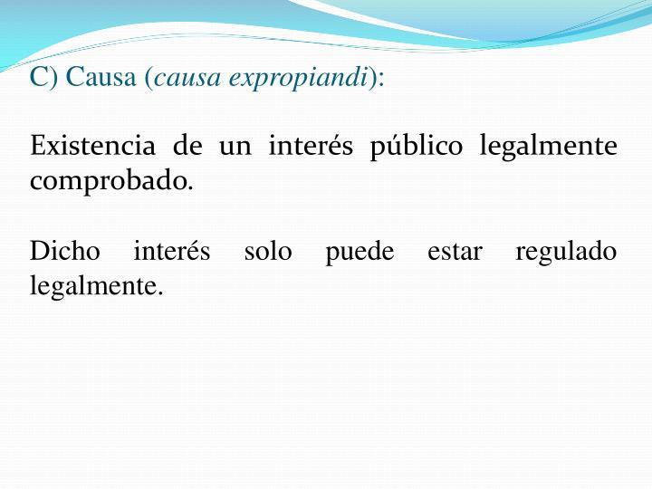 C) Causa (