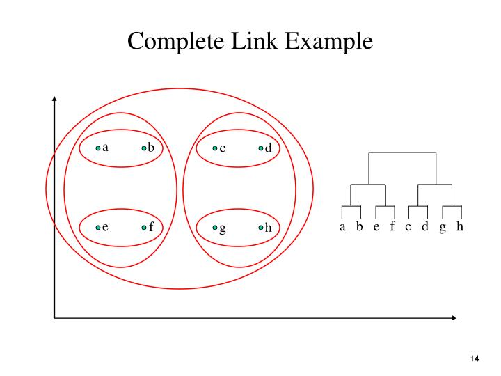 Complete Link Example