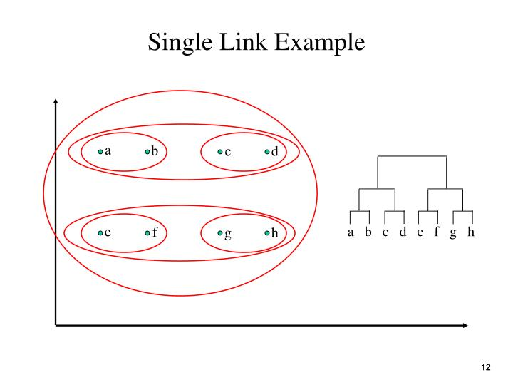 Single Link Example