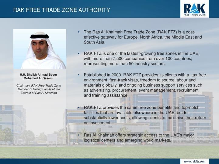 RAK FREE TRADE ZONE AUTHORITY