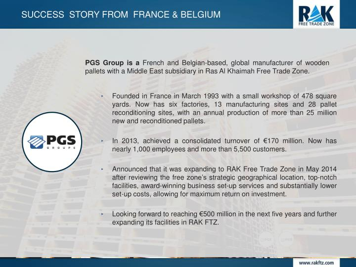 Success  story from  France &