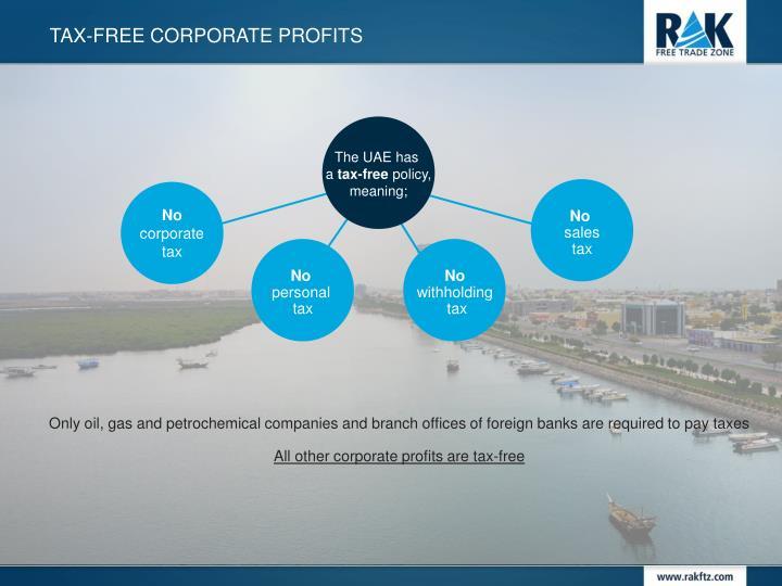 tax-free Corporate profits