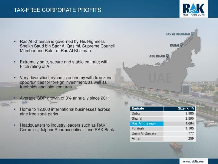 Ras Al Khaimah is governed by His Highness Sheikh Saud bin Saqr Al Qasimi, Supreme Council Member and Ruler of Ras Al Khaimah