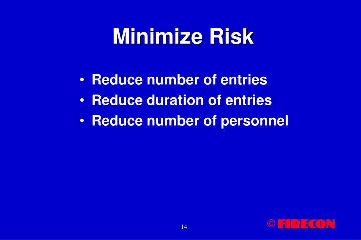 Minimize Risk
