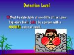 detection level