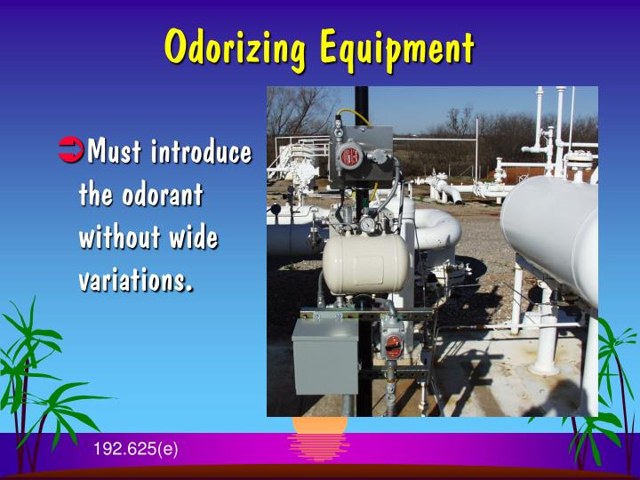 Odorizing Equipment