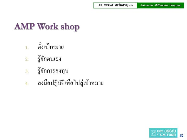 AMP Work shop