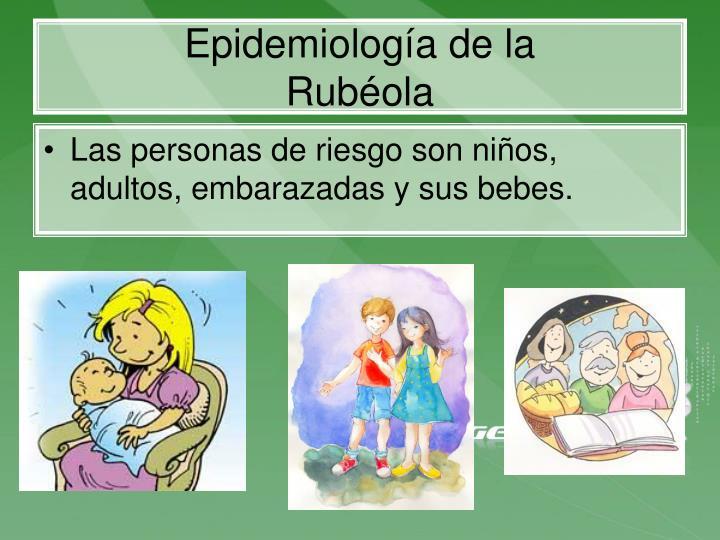 Epidemiología de la