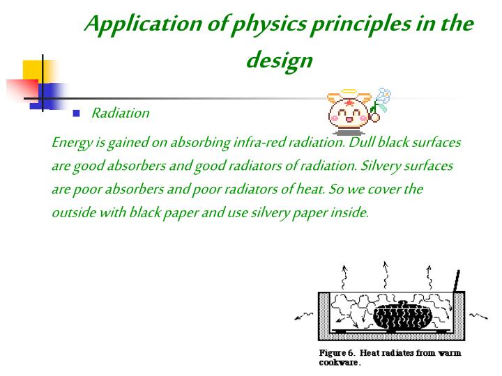Application of physics principles in the design