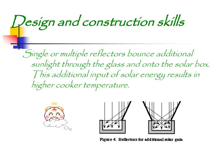 Design and construction skills