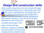 design and construction skills3