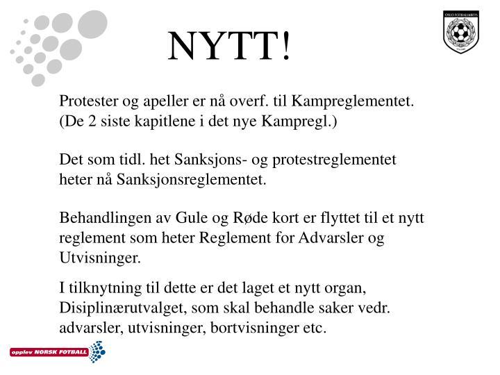 NYTT!